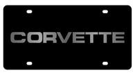 Corvette License Plate - 2354-1