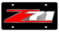Chevrolet Z-71 License Plate - 2370-1