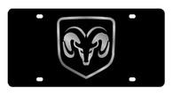 Dodge Ram framed License Plate - 2402-1