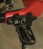 Foot Peg Mounts for Apollo DB36-RX250cc