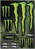 XL Monster Energy Graphic Sticker Sheet 2014