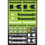 Kawasaki KX/KXF Graphic Sticker Sheet