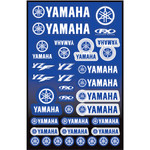 Yamaha YZ Graphic Sticker Sheet