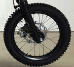"Orion 14"" front rim wheel assembly for XG & X-125cc"