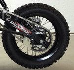 "Orion 12"" rear rim wheel assembly for XG & X-125cc"