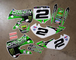 Orion Powersports Monster KLX110-DRZ110 Style Graphics