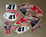 Orion Powersports HRC CRF50 Style Graphics