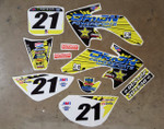 Orion Powersports Rockstar CRF50 Style Graphics