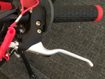 OEM Standard Brake Lever for Orion 2T 50cc pit bike.