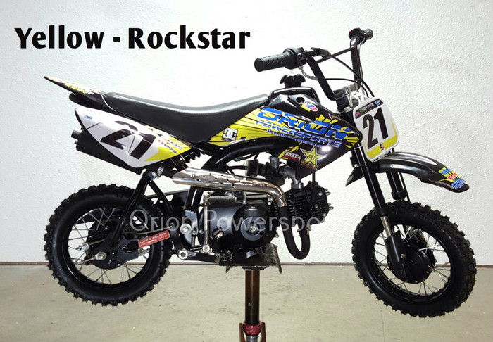orion 21a 70cc pit bike kids pit bike small dirt bike. Black Bedroom Furniture Sets. Home Design Ideas