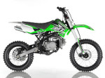 Apollo RFZ DB X-18 125cc MANUAL pit bike - Free Shipping, Fully Assembled/Tested