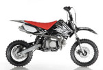 Apollo RFZ DB X-4 110cc SEMI AUTO pit bike - Free Shipping, Fully Assembled/Tested