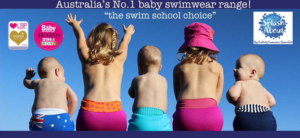 Splash About Happy Nappy Baby Swimwear