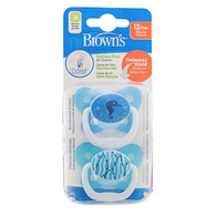 Dr Brown's PreVent Orthodontic Soother 12+ months
