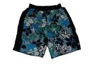 Splash Board Short Child Blue Green