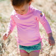 UV Rash Top Pink
