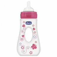 Chicco Well Being Traveller Bottle 240ml Pink