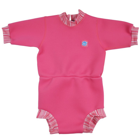 Splash About Happy Nappy Wetsuit Pink Classic