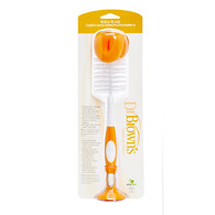 Dr Brown's Bottle Cleaning Brush Orange