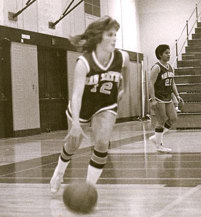 Donna Imsand - Basketball