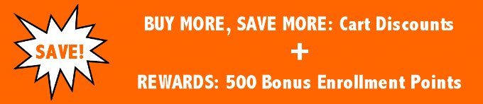 Buy more, save more banner