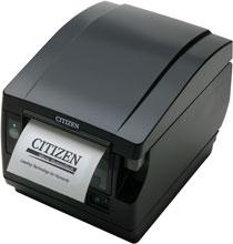 front paper exit receipt printer