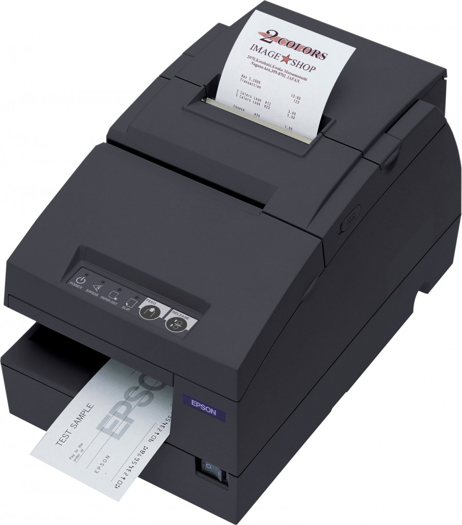 Epson Multifunction Validation Slip Check Validation