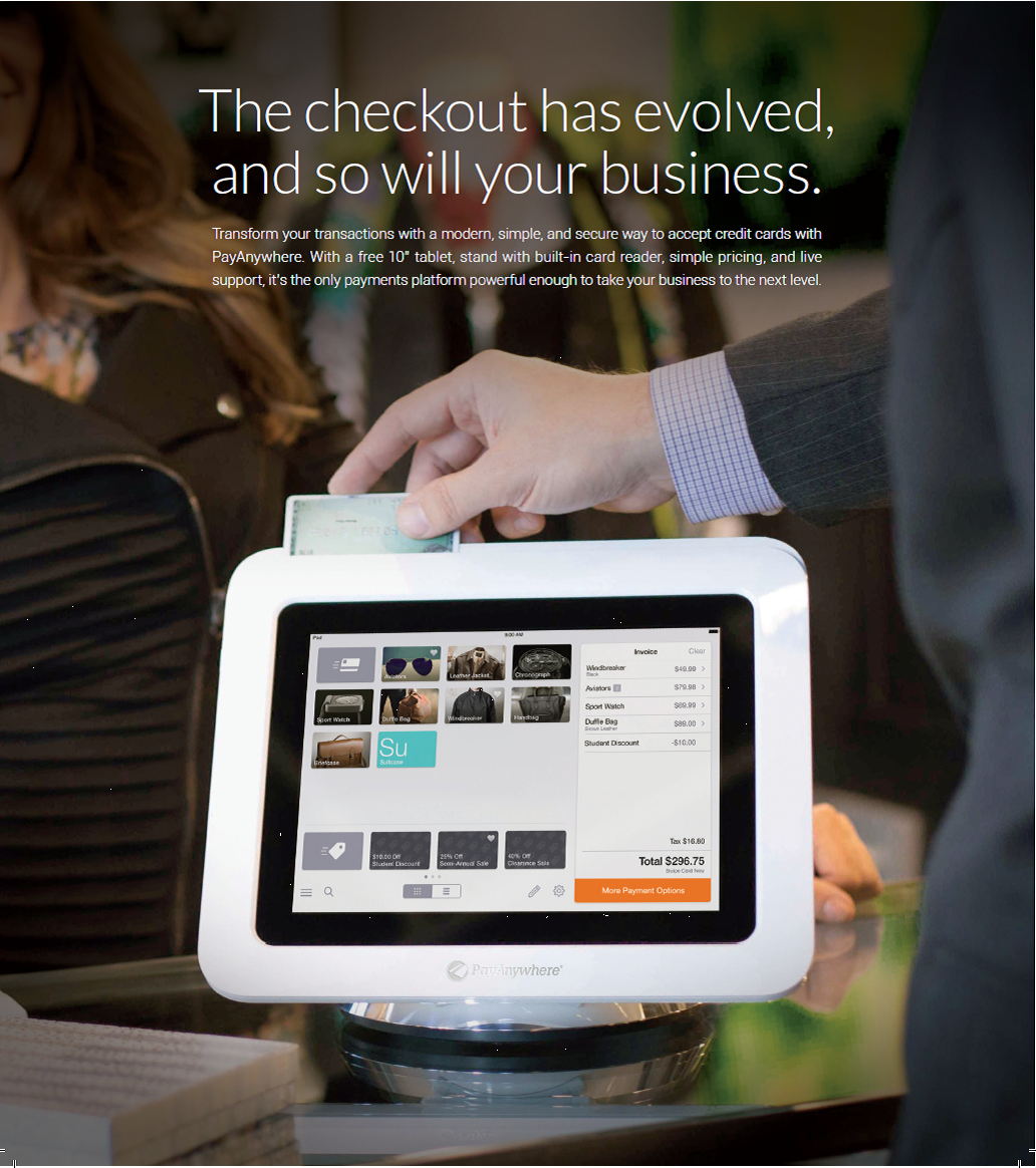 PayAnywhere FREE POS System for Retail, Restaurant