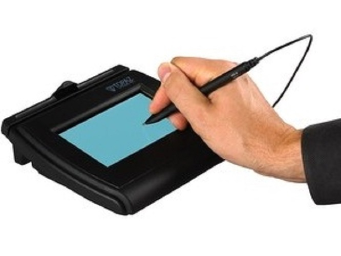 topaz signature capture pad