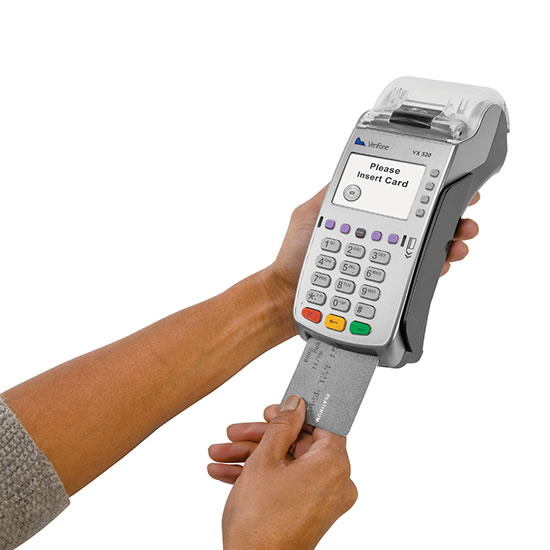 verifone credit card payment machine