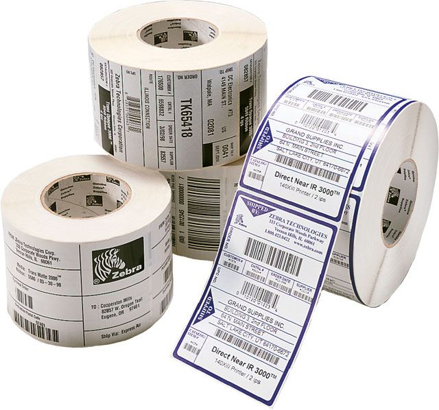 barcode label rolls