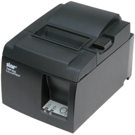 Star Micronics 39461110 TSP100 (TSP143U) Dark Gray Thermal POS Receipt Printer, USB, Autocutter, Internal Power Supply