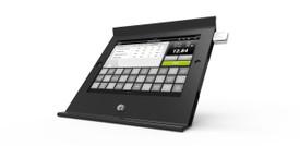 Maclocks, Slide Basic iPad POS Stand/Enclosure, Black, 225POSB