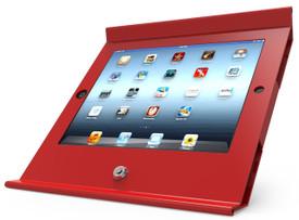 Maclocks, Slide Basic iPad POS Stand/Enclosure, Red, 225POSR