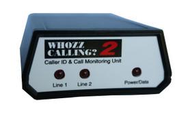 Whozz 2 Line Caller ID Box for Aldelo Restaurant POS ONLY