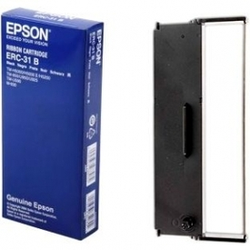 Epson Receipt Printer Ribbon ERC-31B Black Ink Robbon