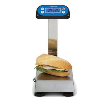 Welch allyn 6702 series oversize wheelchair scales with data port.