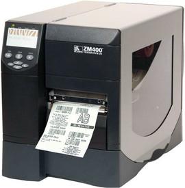 Zebra ZM400 Industrial Barcode Label Printer