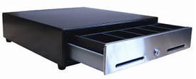 MS Cash Drawer SP103 USB Cash Drawer, Black w/Media Slots