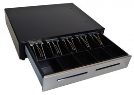 MS Cash Drawer EP-125NK-M-B with Dual Media Slots