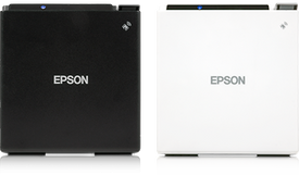 Epson TM-M30 Printer Available in White or Black Finish