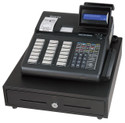 SAM4s ER-945 Cash Register.  **Photo Shows Optional MSR/Card Reader**