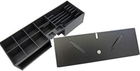APG Flip-Top Cash Drawer Money Tray & Lid Set