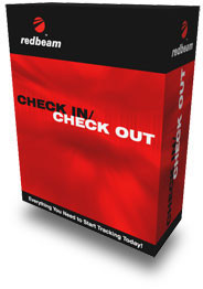 RedBeam Check In/Check Out Software, Mobile Edition