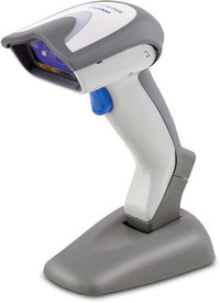 Datalogic Gryphon I GD4430 POS Barcode 2D Imager Scanner. This item comes with the permanent base shown in photo.
