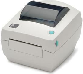 "Zebra GC420t 4""THERMAL TRANSFER, POS Barcode Label Printer"