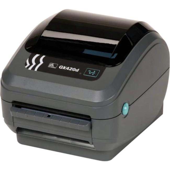 Zebra GX430t 4 Inch THERMAL TRANSFER Label Printer, 3