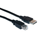 6 Foot USB A to B Printer Printer Cable, Black, 243-006-BK (CTG-28102)