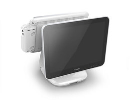 "POSBANK USA ANYSHOP 2 Rear 15"" Customer Facing LCD Display"
