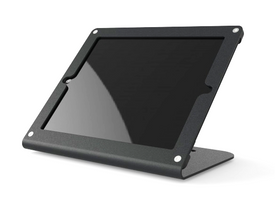 HECKLER DESIGN, WINDFALL C, BLACK, SECURE POINT-OF-SALE STAND FOR IPAD 2, 3, 4, PIVOTTABLE AND PIVOTTACK SOLD SEPARATELY, HDWF1CBK